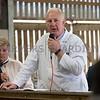 Worcester Livestock Market<br /> Clive Roades selling<br /> Picture Tim Scrivener 07850 303986<br /> ….covering agriculture in the UK….