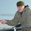 Ref Theresa Photo Arvid Parry Jones. ( Pic 23 ).<br /> Brightwells Refurbished Rhayader Livestock Market, Mid Wales. Sale of 1500 fat lambs. <br /> Auctioneer  Chris Davies.