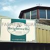 Ref Theresa Photo Arvid Parry Jones. ( Pic 18 ).<br /> Brightwells Refurbished Rhayader Livestock Market, Mid Wales. Sale of 1500 fat lambs. <br /> Brightwells sign.