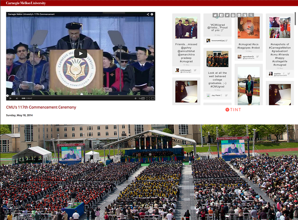 Carnegie Mellon University Commencement