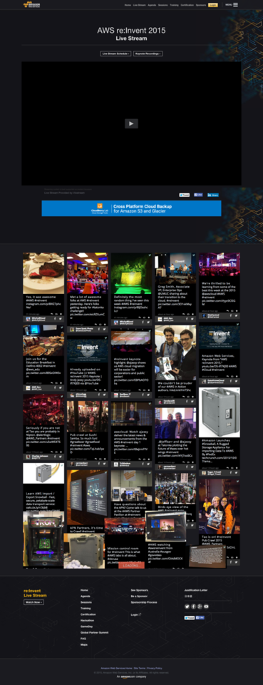 AWS LiveStream Website