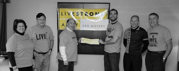Livestrong Check Prsentation 1/31/2010