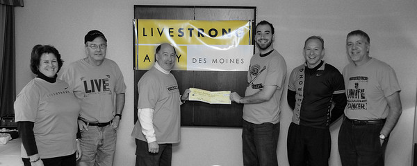 Livestrong Check Prsentation 1/31/2010