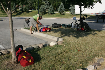 Ragbrai send off 2013
