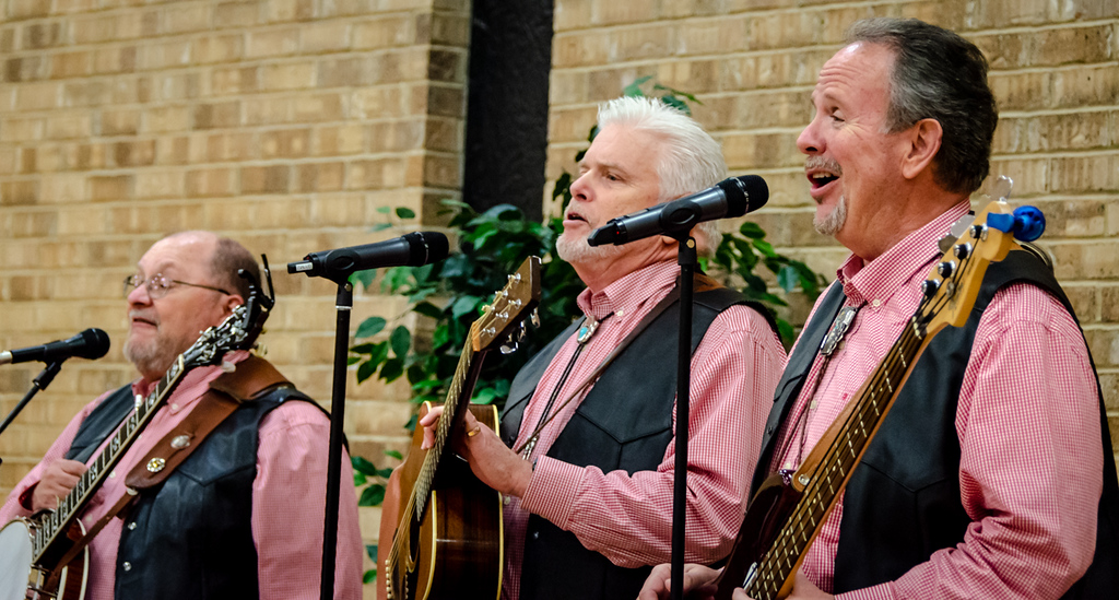 The Country Boys - L to R - Paul Newberry, Barry Feriend, David Hunt