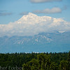 Denali, also known as Mt McKinley, the highest mountain in north America.