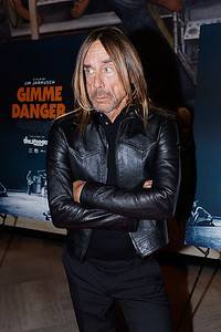Iggy Pop at the Gimme Danger movie screening at the DIA on 10-25-16.  Photo credit: Ken Settle