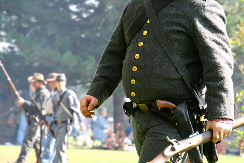 At least the soldiers are well fed curing the Civil War.