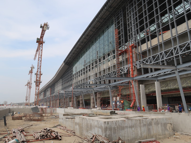 Bang Sue Grand Station construction update - The future central station of Bangkok