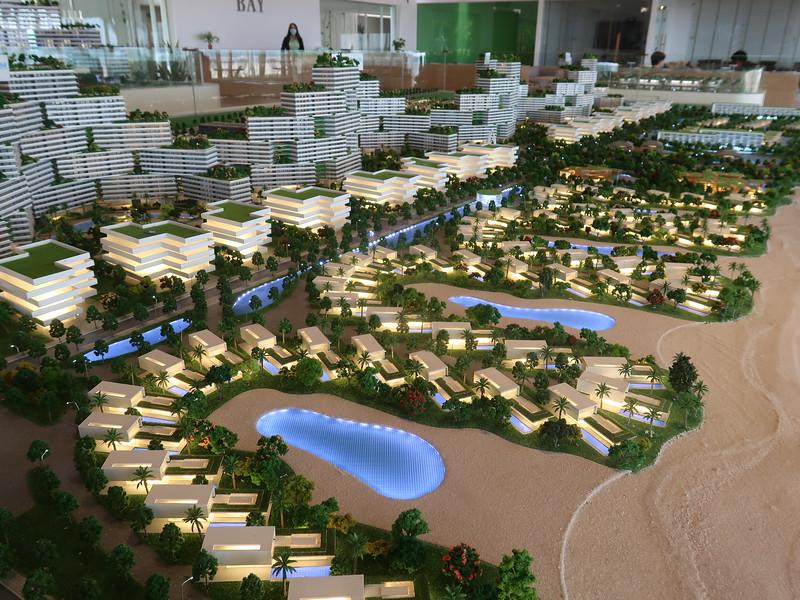 Thanh Long Bay - model of beach villas