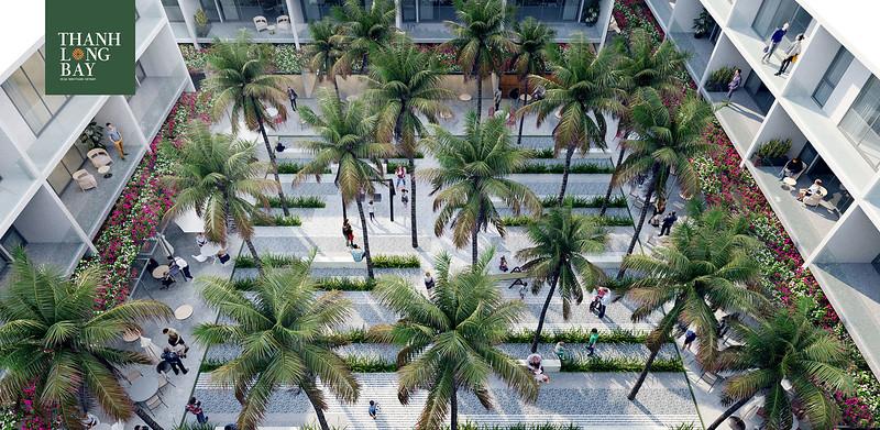 Thanh Long Bay - courtyard