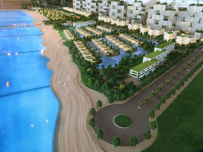 Thanh Long Bay model - east end