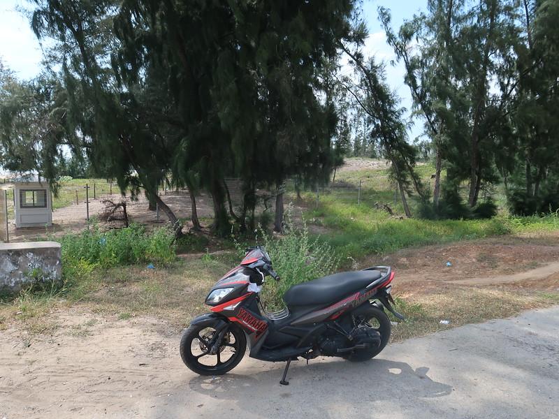 Bike at Thanh Long Bay