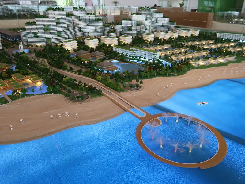 Thanh Long Bay model - pier