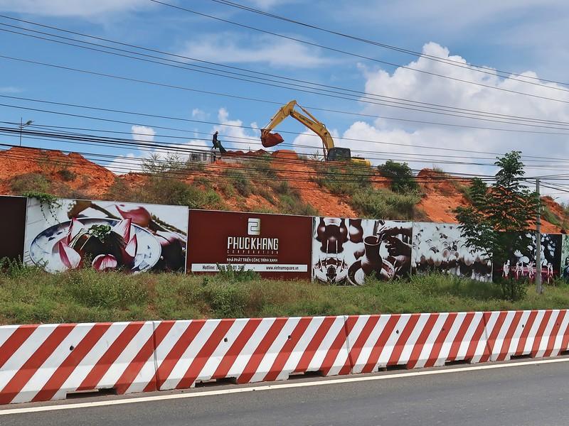 Vietnam Square excavation