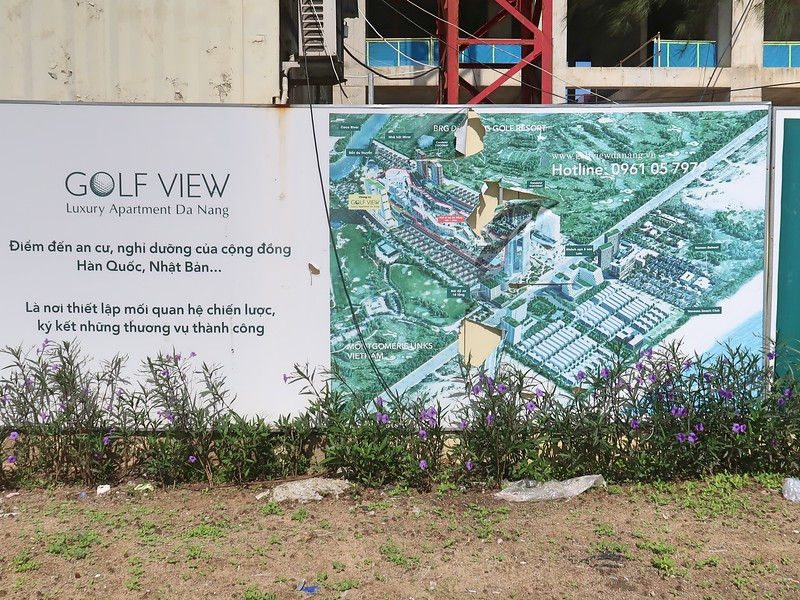 Advertising for Golf View Luxury Apartment Da Nang