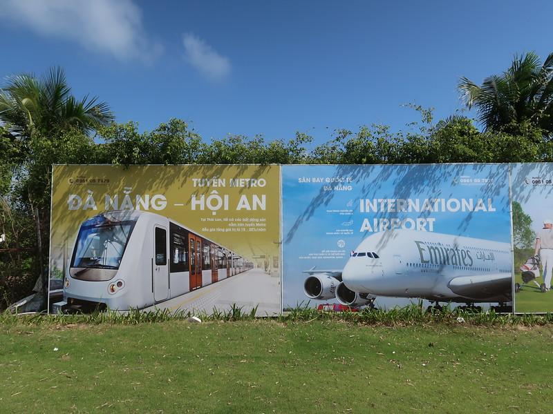 Advertising for Danang - Hoi An Metro