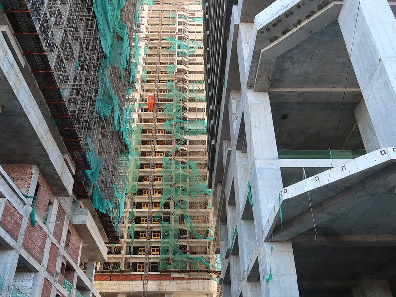 Danang Times Square - work site