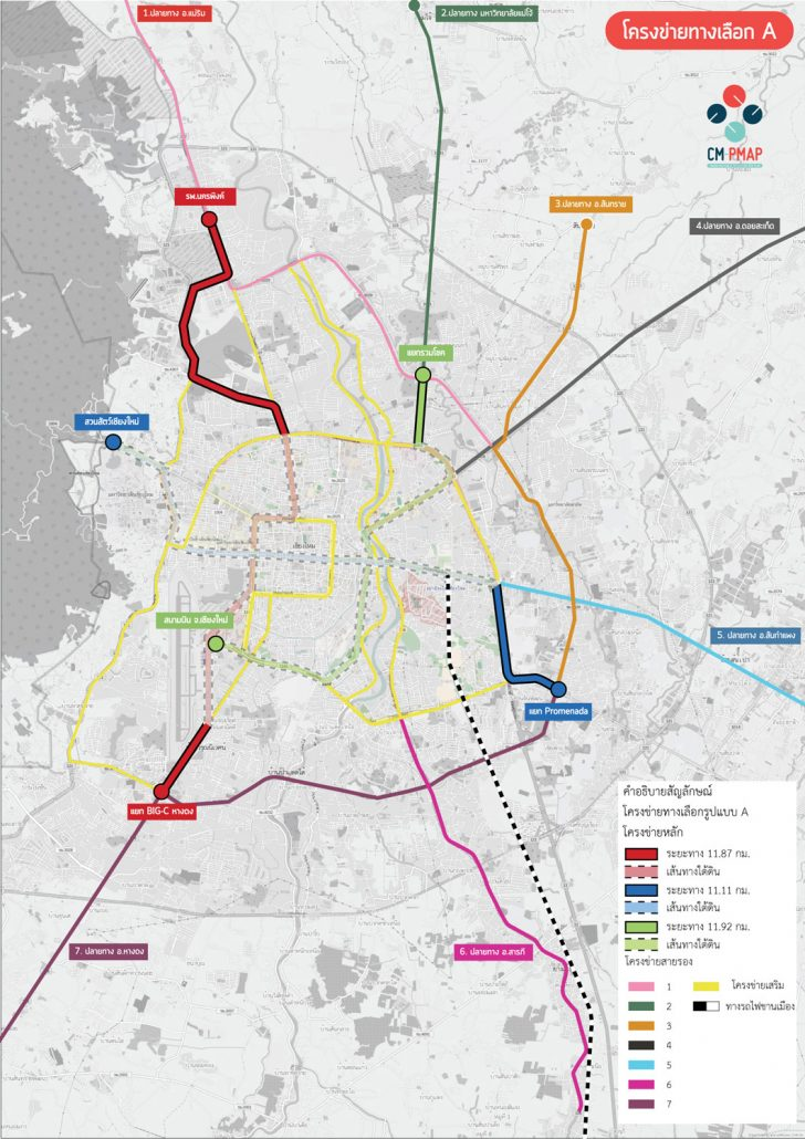 Proposed Chiang Mai Light Rail