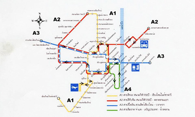 Chiang Mai Monorail Map