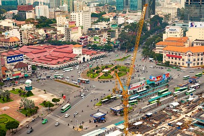 Saigon Metro Construction to Demolish Ben Thanh Roundabout, Bus Station