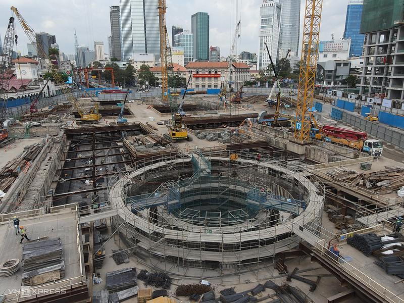 Ben Thanh Metro Construction