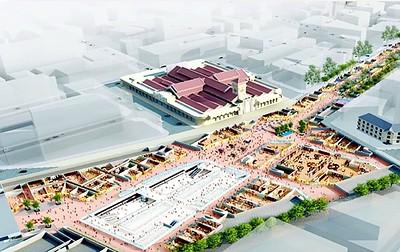 Ben Thanh Central Underground Plaza