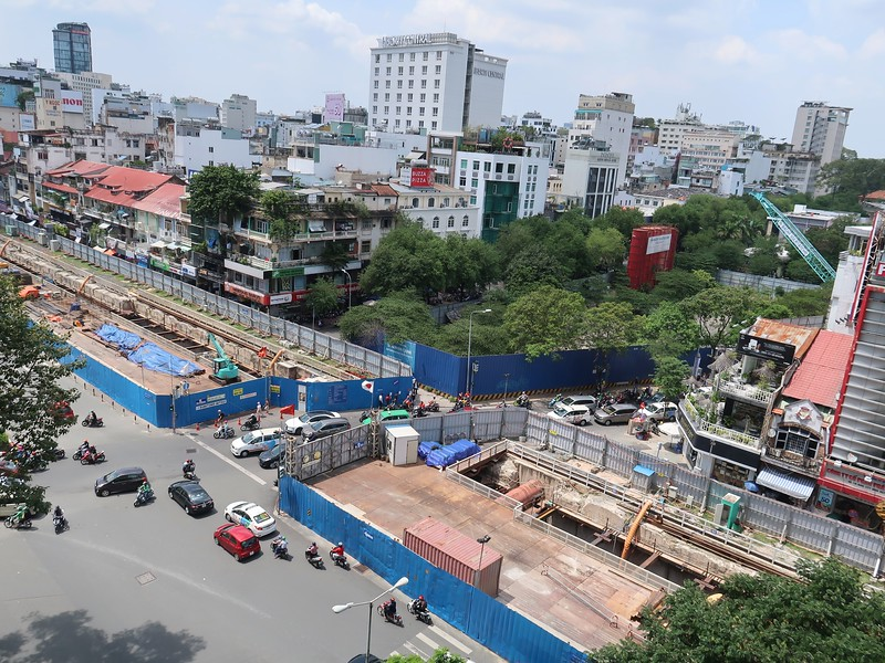 Saigon Jewelry Center site and Le Loi St