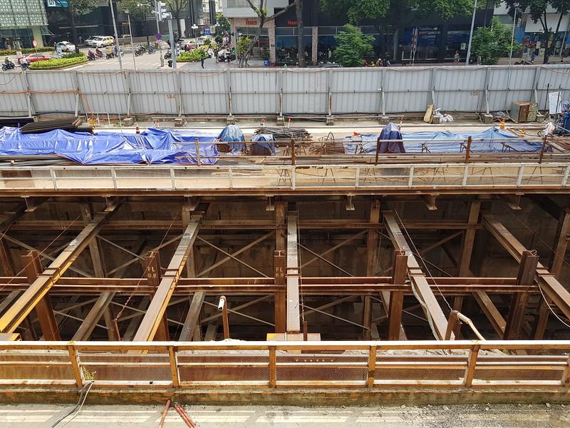 Le Loi metro construction