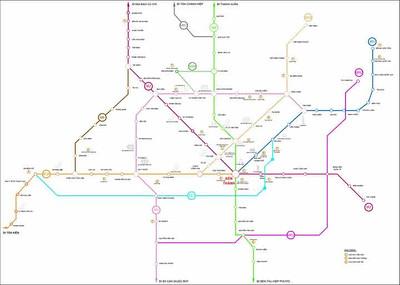 Planned HCMC Metro