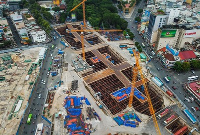 $300 million Ben Thanh underground trade centre runs into delay