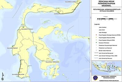 Sulawesi Railway Plan