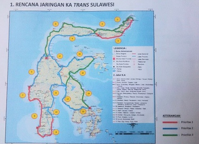 Trans Sulawesi Map