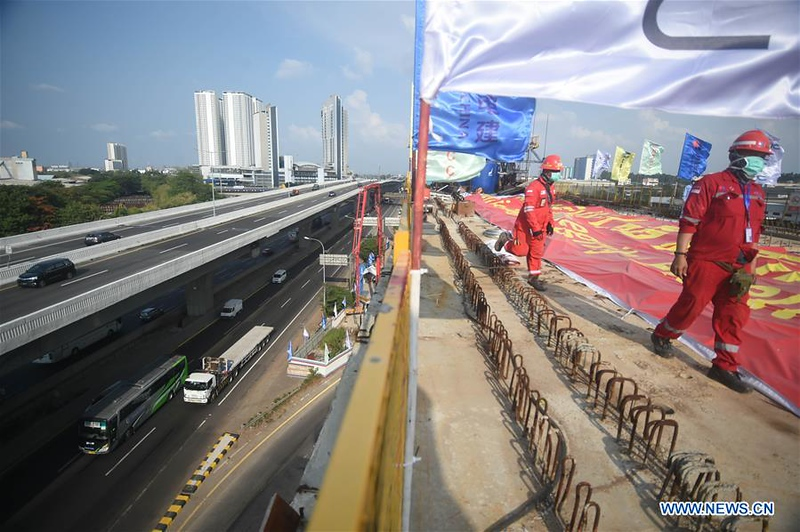 Major continuous beam for Indonesia's Jakarta-Bandung High-Speed-Railway built