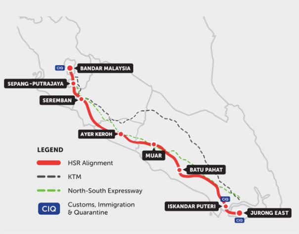 Kuala Lumpur–Singapore high-speed rail