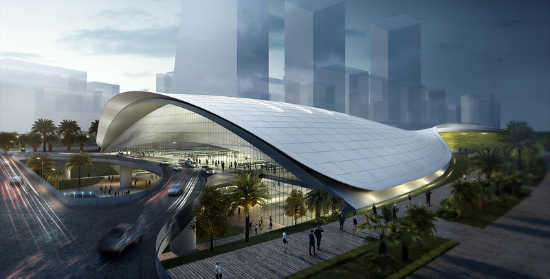 Singapore HSR Station