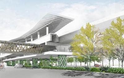 Khon Kaen LRT Station Concept