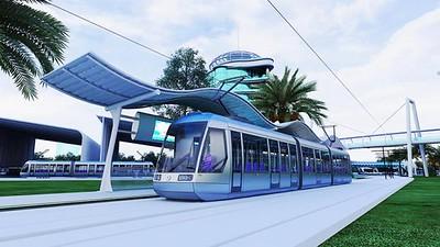 Khon Kaen LRT Concept