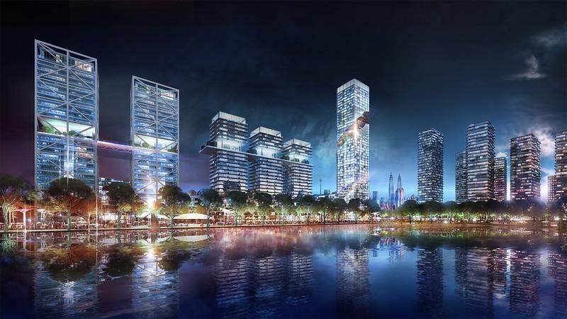Bandar Malaysia Night View