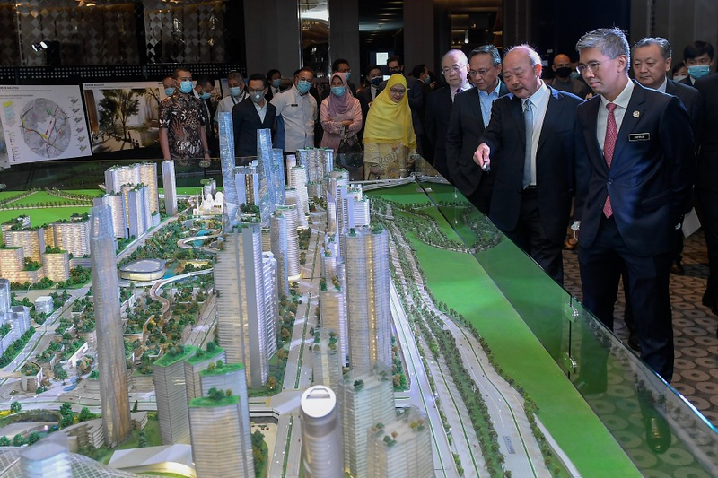Development of RM140 billion Bandar Malaysia begins