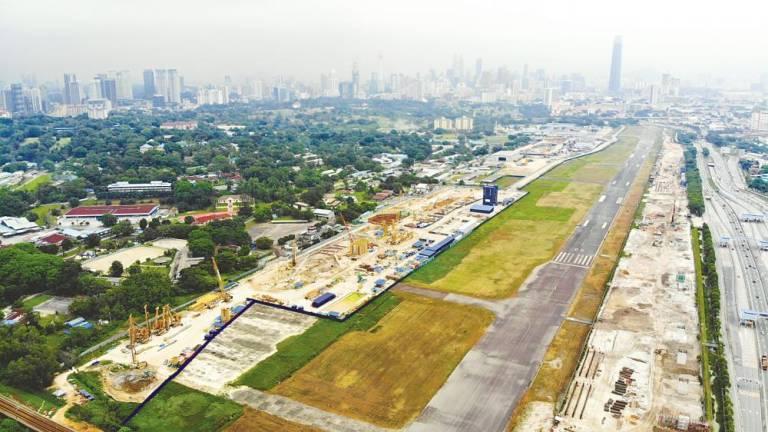 Bandar Malaysia at the former Sungai Besi Airport