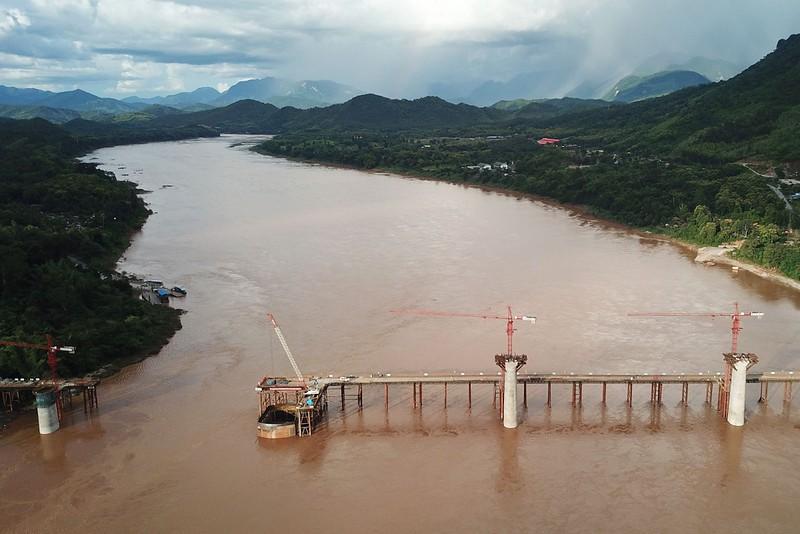 Rail bridge near Luang Prabang