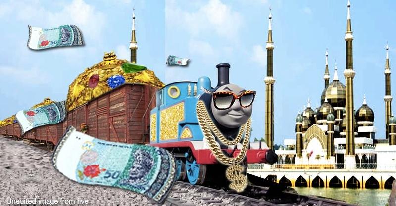 The new Kelantan-Selangor railway costs… RM91 million per kilometer