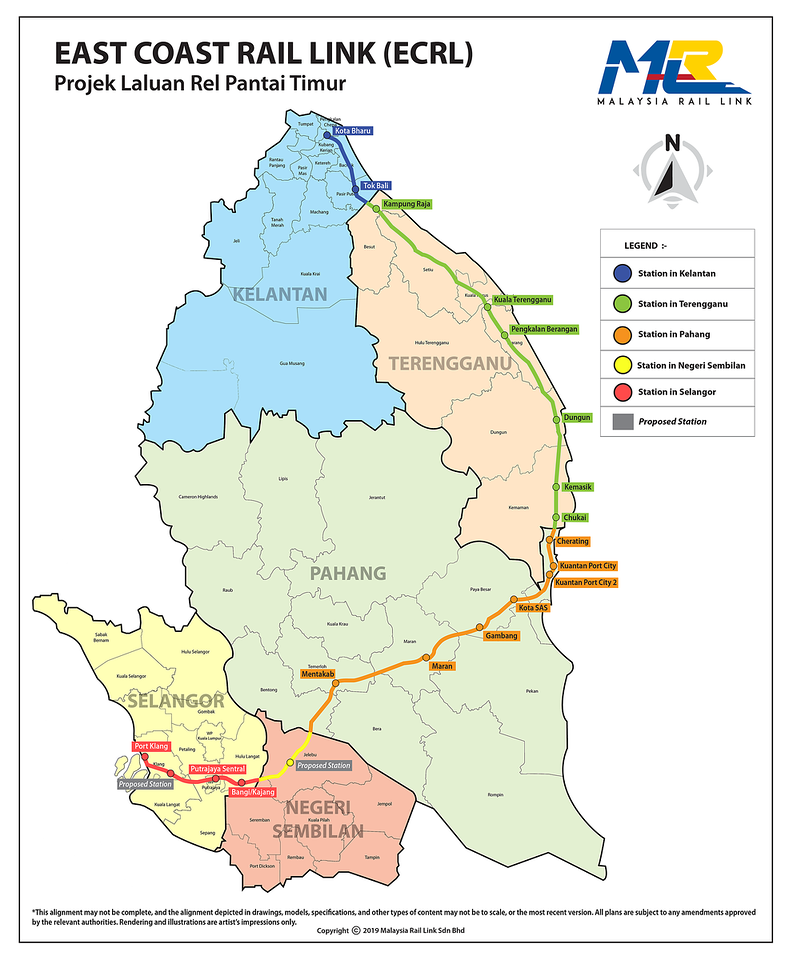 East Coast Rail Link (ECRL)