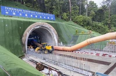 Dungun Tunnel, ECRL