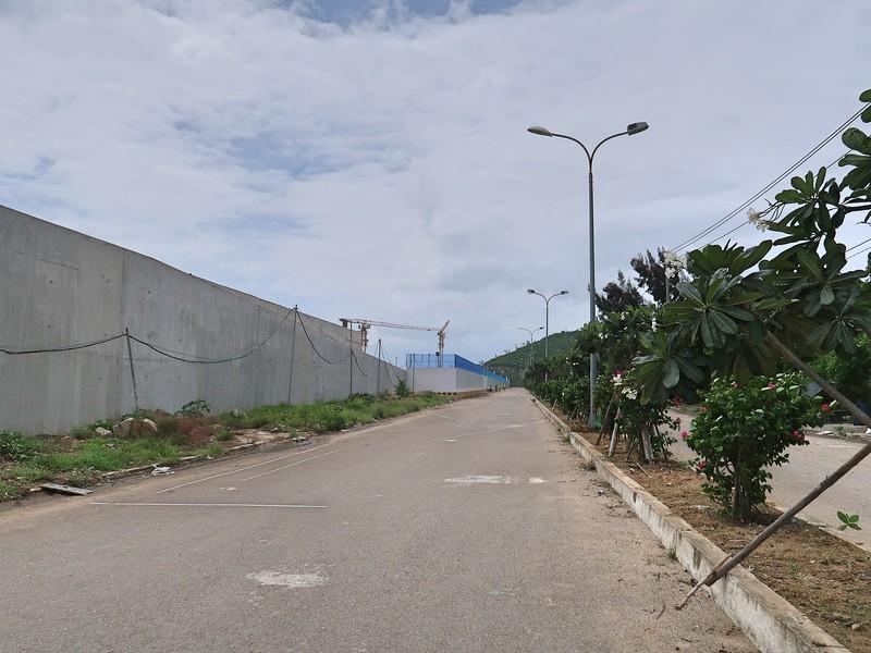 Vega City construction wall