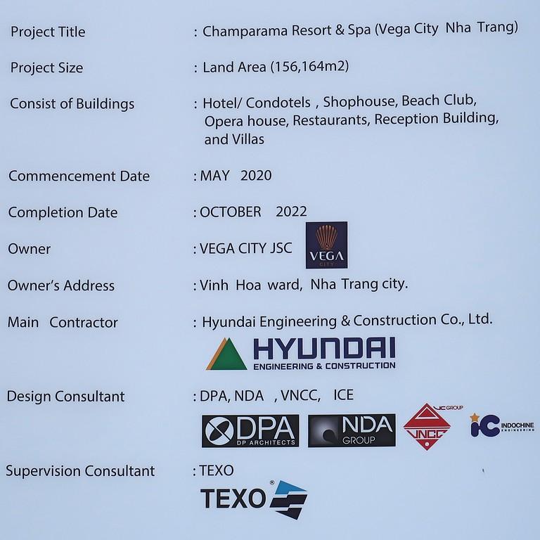 Vega City Project Information