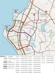 Pattaya Transit Map