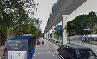 Bayan Lepas elevated LRT