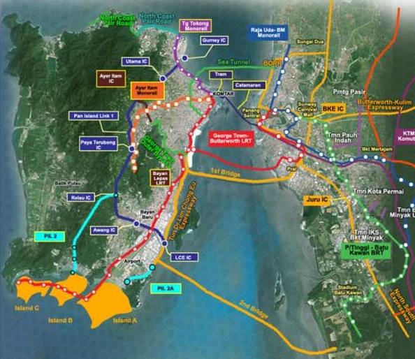 Penang transport masterplan proposal